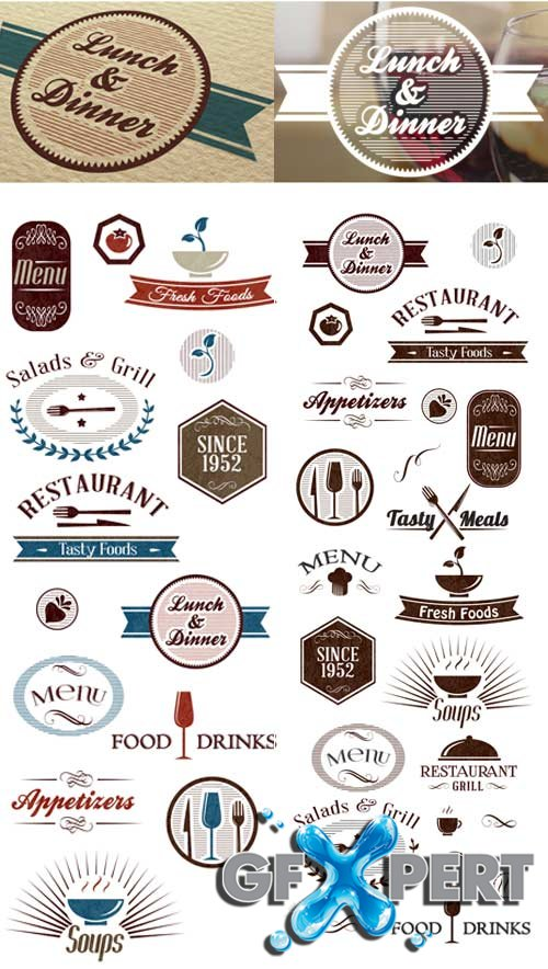 Super premium logo builder - Restaurant