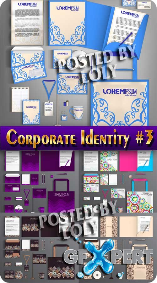 Corporate Identity #3 - Stock Vector