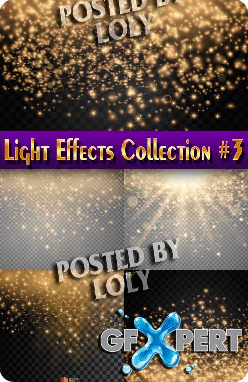 Light Effects Collection #3 - Stock Vector