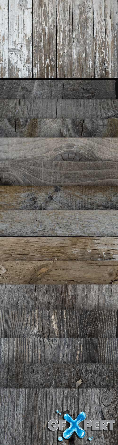 15 High Res Textures - Wood V1