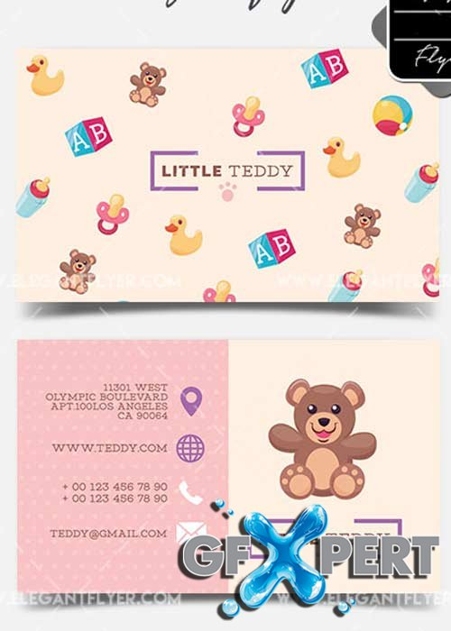 Toy Shop V1 2018 Business Card Templates PSD