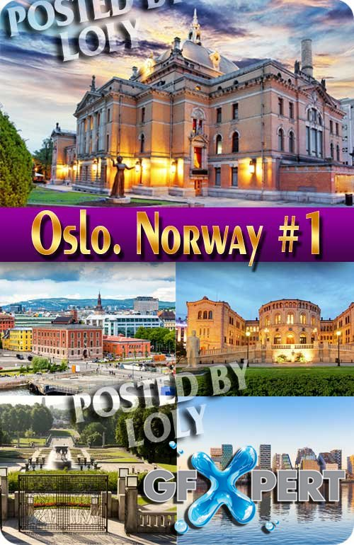 Oslo. Norway #1 - Stock Photo