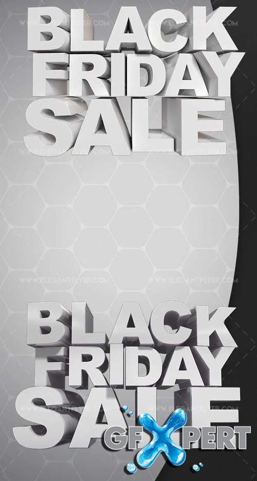 Black Friday Sale V1 2018 3d Render Templates
