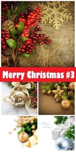 Merry Christmas 2018 #3 - Stock Photo
