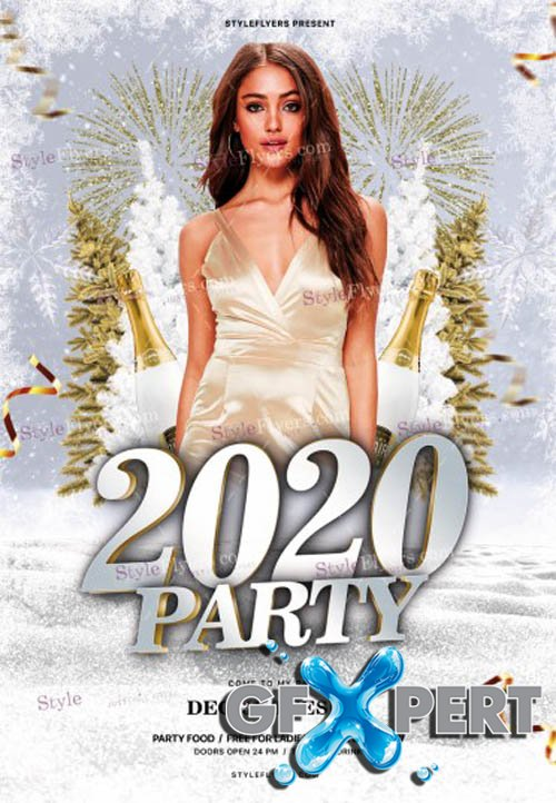 2020 Party V0112 2019 PSD Flyer Template