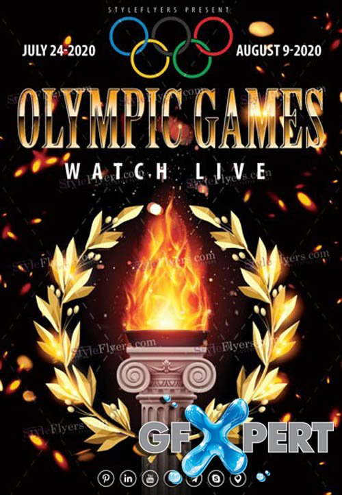 Olympic Games Watch Live V3103 2020