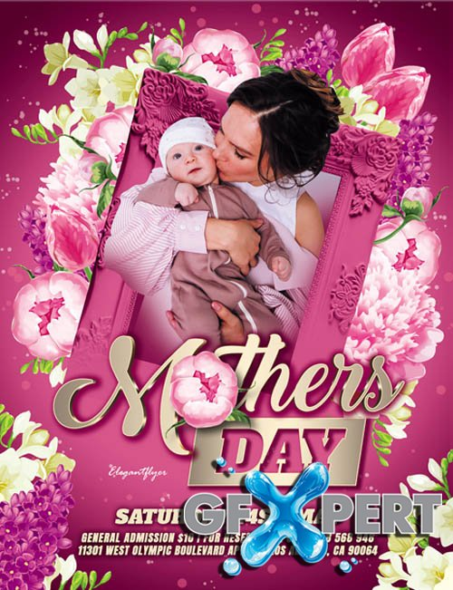 Mothers Day V2405 2020 Premium PSD Flyer Template